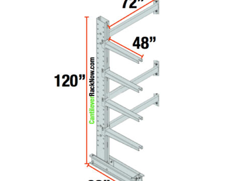 Cantilever Racks Adder Unit 4
