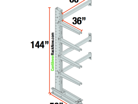 Cantilever Racks Adder Unit 5