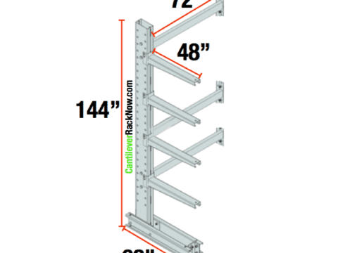 Cantilever Racks Adder Unit 6