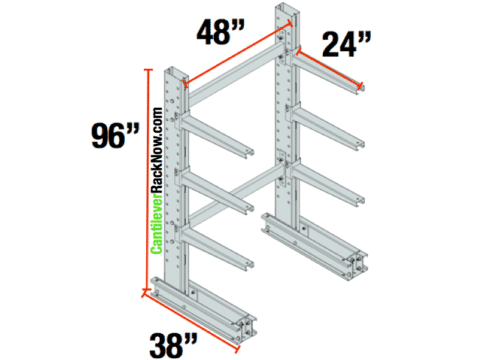 Cantilever Racks Starter Unit 1