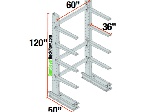 Cantilever Racks Starter Unit 3