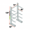 Cantilever Racks Starter Unit 4