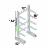 Cantilever Racks Starter Unit 6
