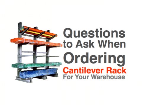 How to order cantilever rack